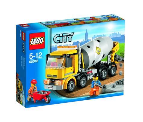 Lego City Autobetoniera