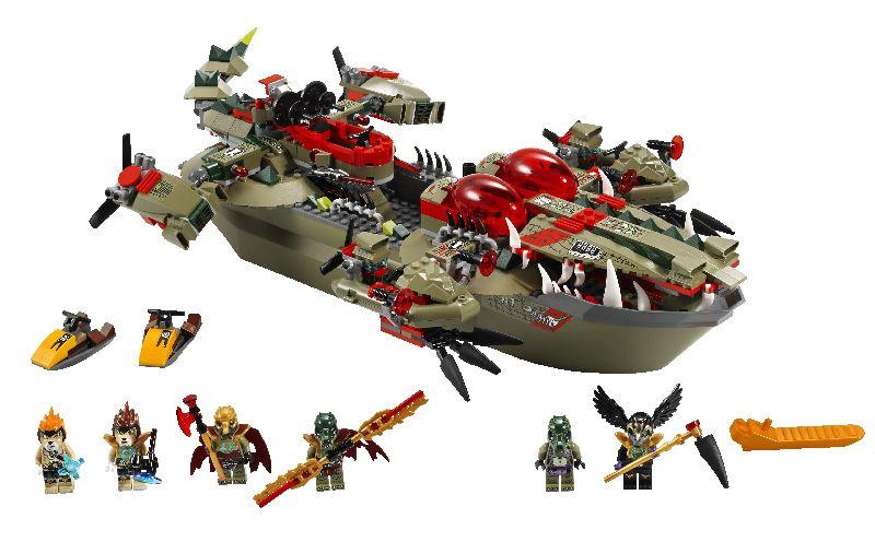 Lego Chima Nava de comanda a lui Cragger