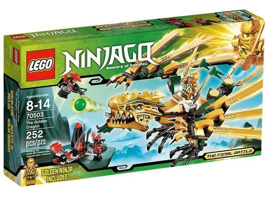 Lego Ninjago Dragonul de aur