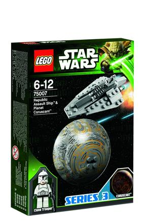 Lego Star Wars Barca de asalt