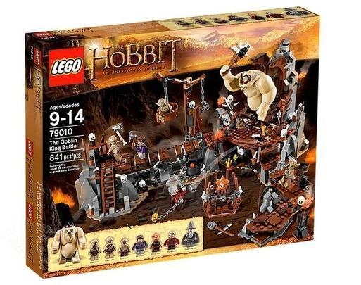 Lego Hobbit Lupta regelui goblinilor