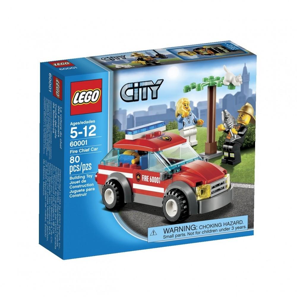Lego City Masina comandantului pompierilor