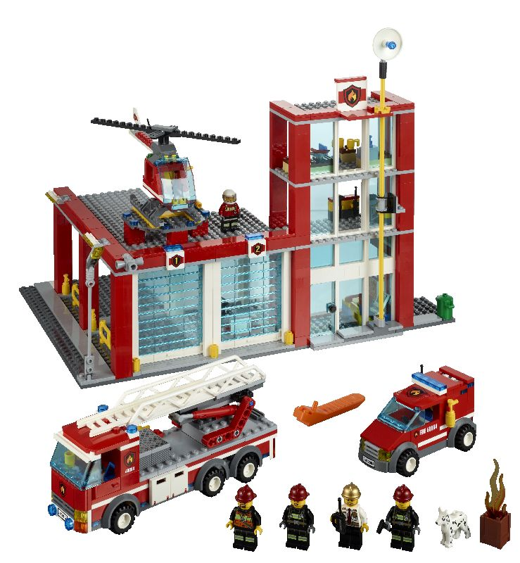Lego City Statie de pompieri