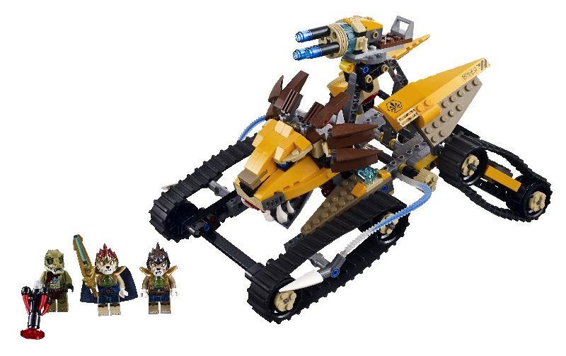 Lego Chima Vehiculul regal de lupta