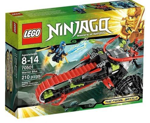 Lego Ninjago  Motocicleta de razboinic