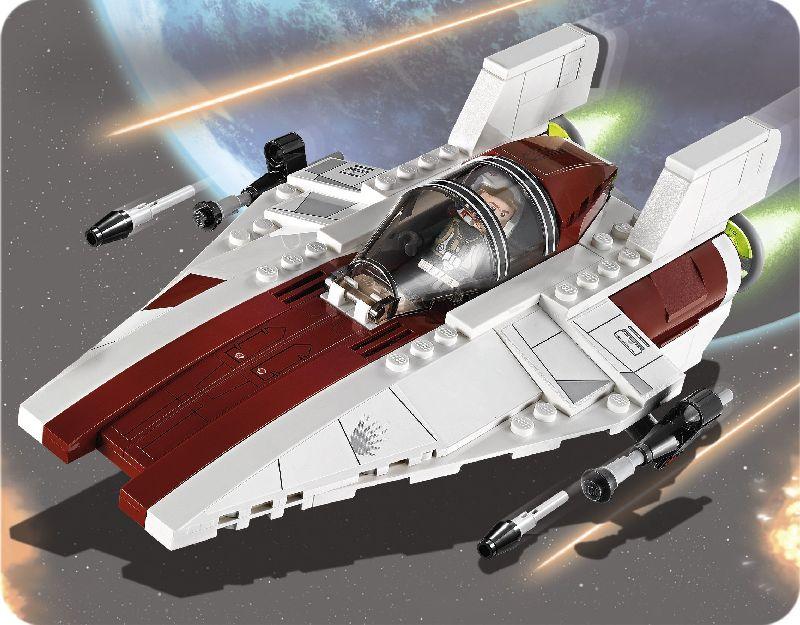 Lego Star Wars Aripa Starfighter