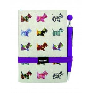 Carnet cu pix - Scottie Dogs