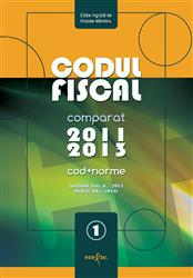 CODUL FISCAL 2012/2013. TEXT COMPARAT