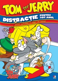 DISTRACTIE PENTRU TOT ANUL TOM & JERRY