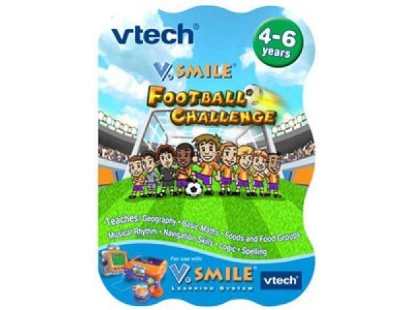 zzCaseta joc TV V-Tech: Fotbal