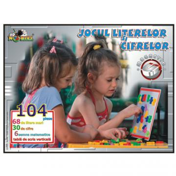 zzJOCUL LITERELOR SI CIFR ELOR MAGNETIC 6-9ani