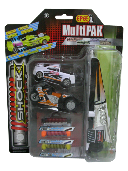 zzMasinuta Shock Racers multi pack gr.2