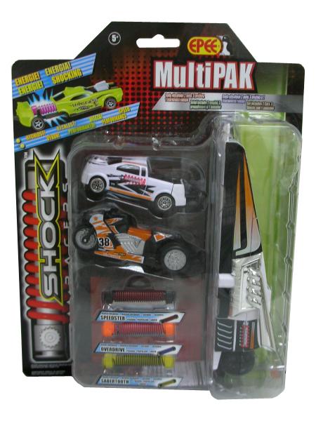 zzMasinuta Shock Racers multi pack gr.2