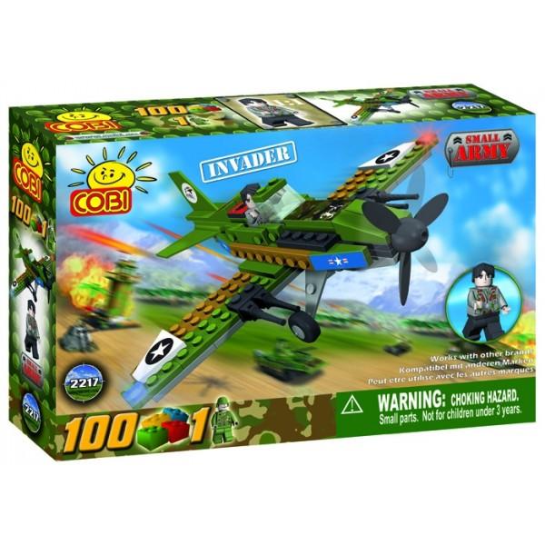 zzCOBI Avion militar Inva der 100 piese