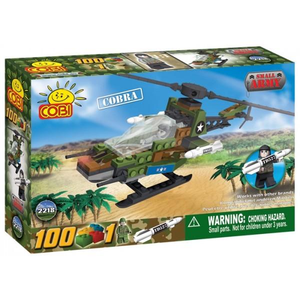 zzElicopter Cobra, 100 pcs. Cobi