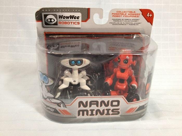zzSet roboti Mini Roboquad si Mini Tri-Bot