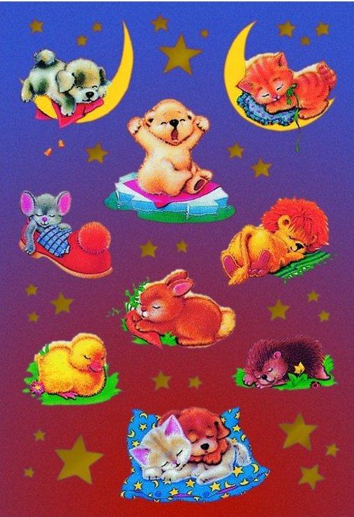 zzSticker Magic Animale pe taramul viselor
