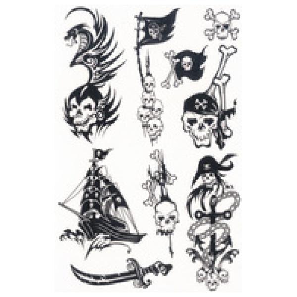 zzTatuaj Black Art Pirati