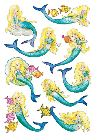 zzSticker Decor Sirene stralucitoare