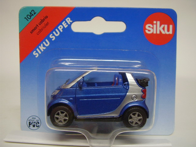 Masinuta Siku Smart Cabrio