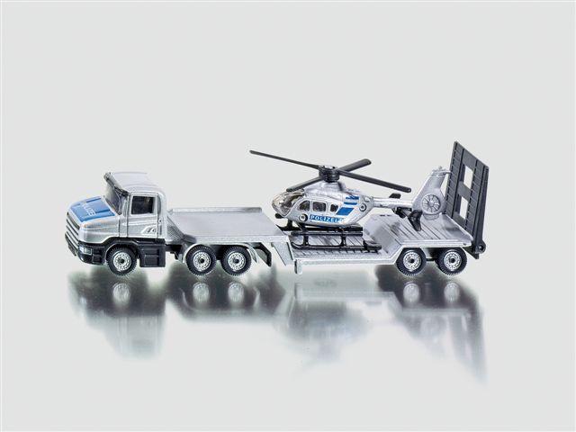 Siku Masina Platforma cu elicopter