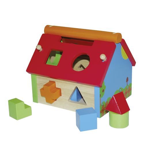 Casa din lemn cu activitati