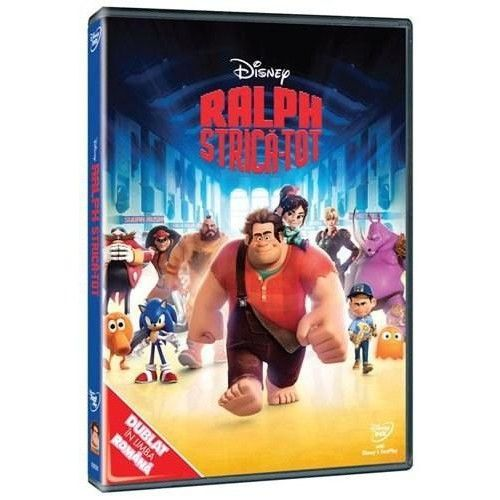 RALPH STRICA TOT-WRECK IT RALPH