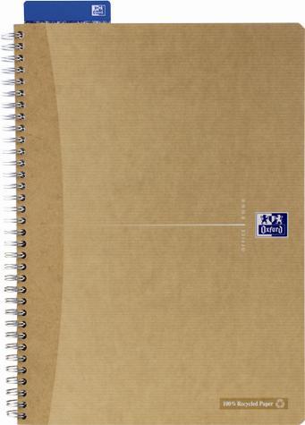 zzCaiet Oxford Recycle d,spira,A4,dictando