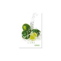 Caiet coperta tare A6 mate FreshFruit lime,96file