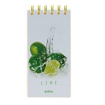 Lista cumparaturi 8.5x17cm 100 file FreshFruit lime