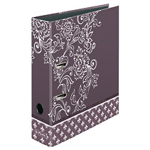 Biblioraft A4 max file 8 cm Ladylike purple