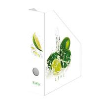 Suport documente A4 carton FreshFruit lime