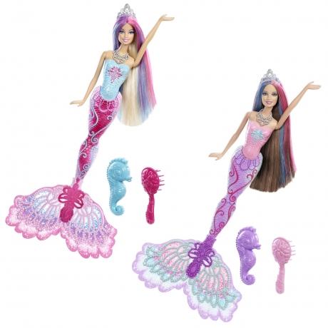 Papusa Barbie Sirena Printesa