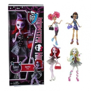 Papusa Monster High, Petrecareata basic