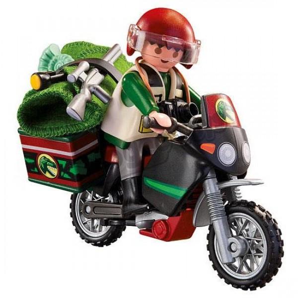 Explorator pe motocicleta