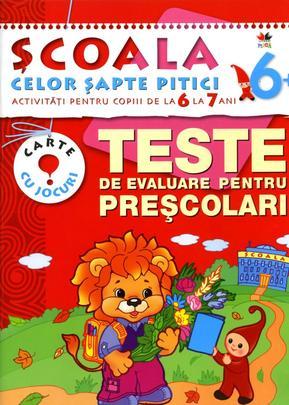TESTE DE EVALUARE PENTRU PRESCOLARI