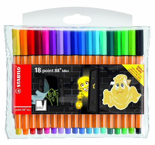 Liner Stabilo Point 88 Ghosts,mini,18buc