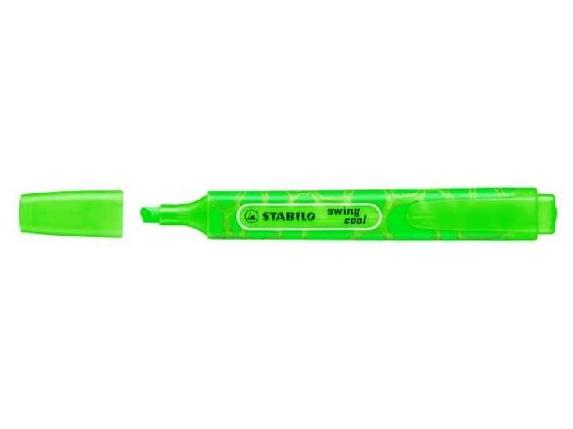 Textmarker Stabilo Swing cool,Wild,verde