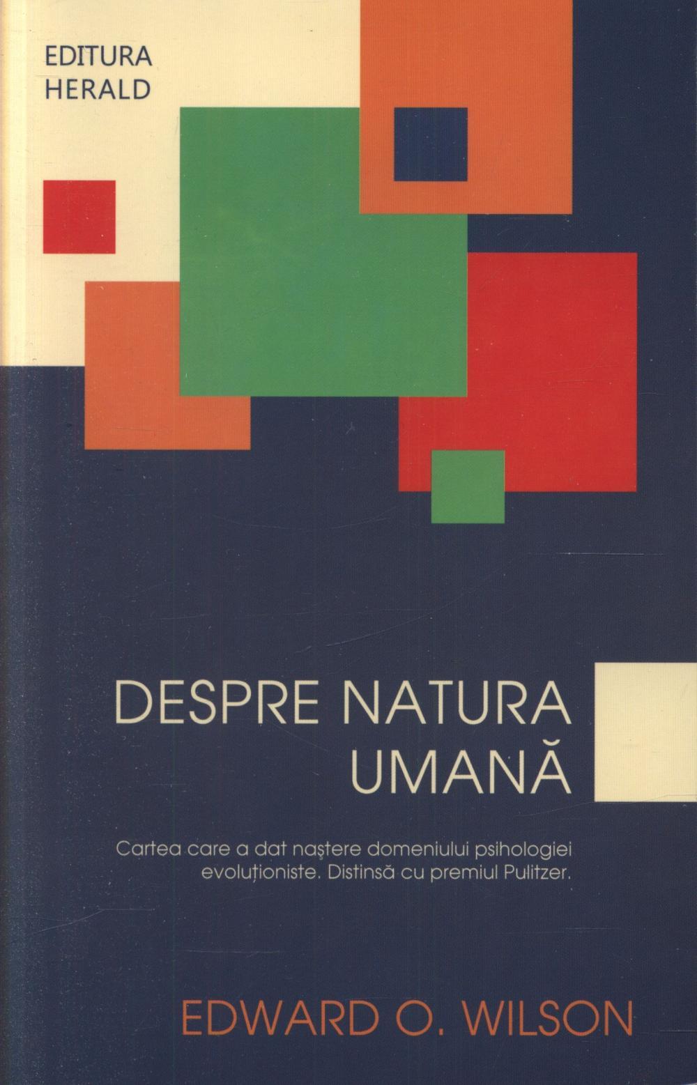 DESPRE NATURA UMANA