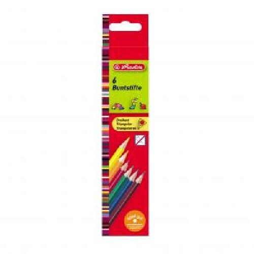 Creioane colorate,6b/set,hexagon,Kores