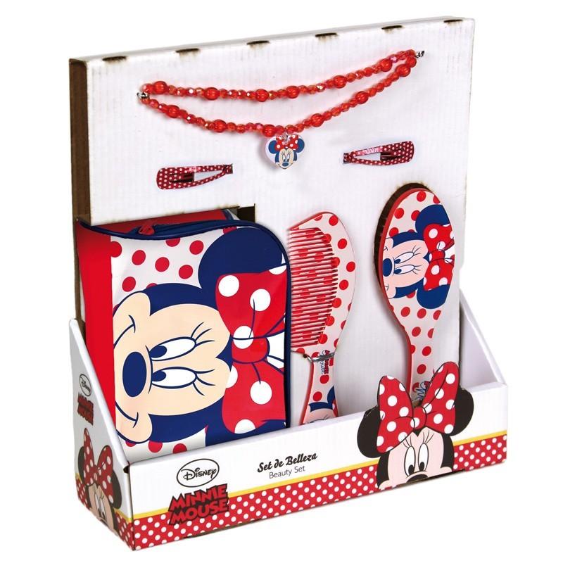 Set accesorii pentru par Minnie Face