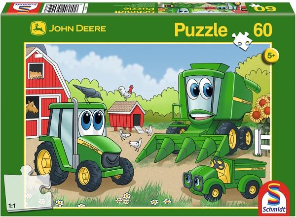 Puzzle Lumea lui Johnny, 60 pcs