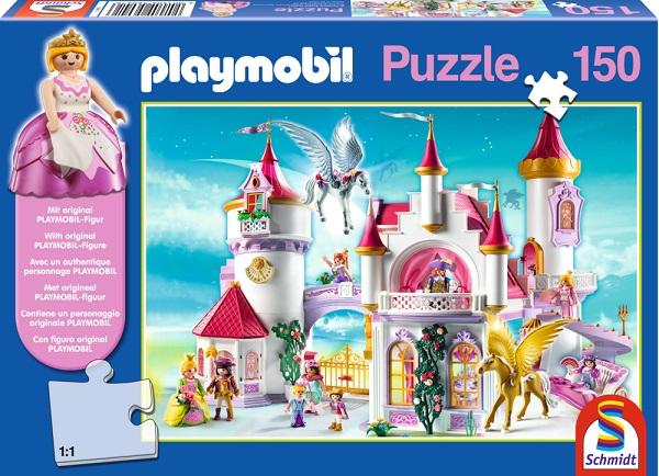 Puzzle Playmobil Castelul Printesei, 150 pcs