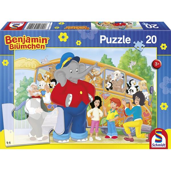 Puzzle La Zoo, 20 pcs