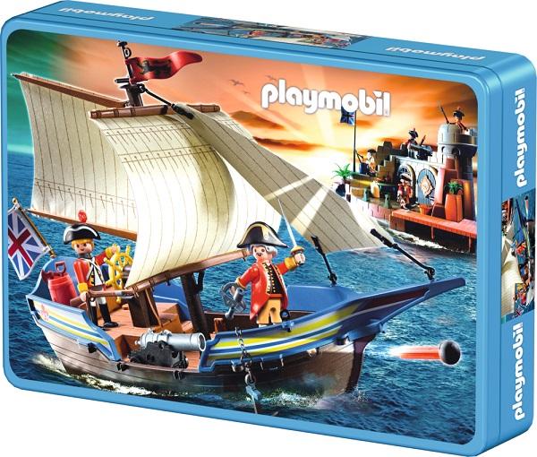Puzzle Playmobil Pe apa