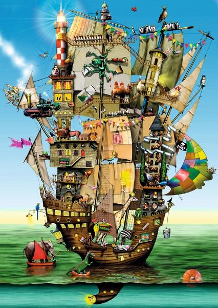 Puzzle Arca lui Noe