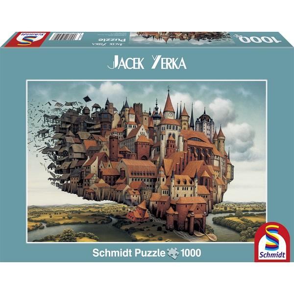 Puzzle Orasul suspendat