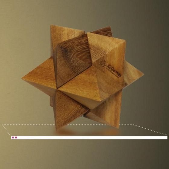 Puzzle mecanic Star