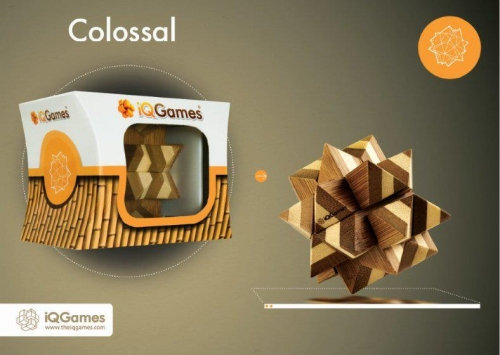 Puzzle mecanic Colossal