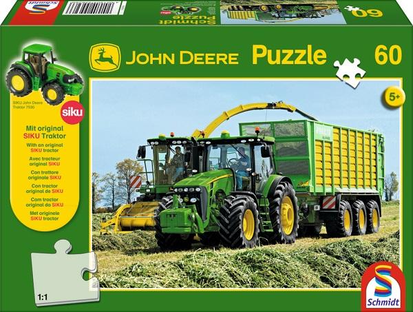 Puzzle Tractor, 60 pcs